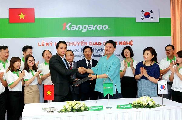 Kangaroo ký kết Chuyển giao công nghệ Tạo nước Kiềm Hydrogen với Tập đoàn Công Nghệ Hàn Quốc_2
