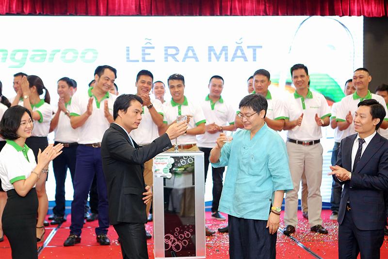 Máy lọc nước Kangaroo Hydrogen chính thức có mặt tại Việt Nam_1
