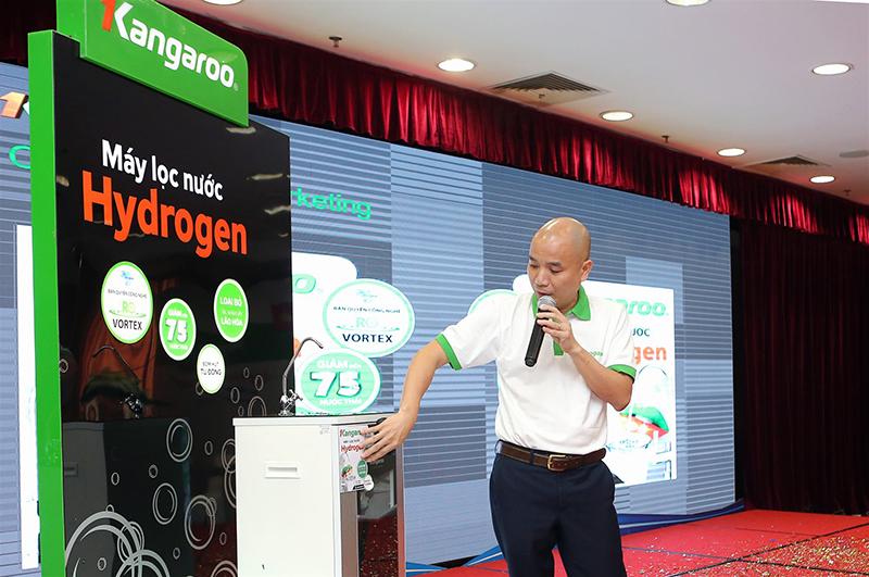 Máy lọc nước Kangaroo Hydrogen chính thức có mặt tại Việt Nam_3