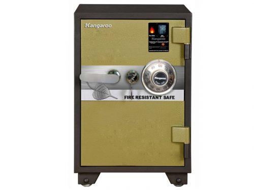 Square safe - Unchangeable dial lock 85Kg KG90V