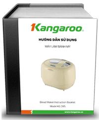 Hướng dẫn sử dụng Máy làm bánh mỳ Kangaroo KG 395
