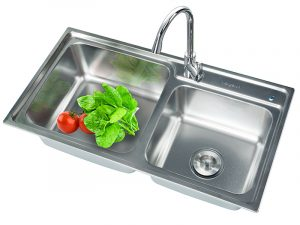 Antibacterial Stainless Steel Sink KG 8143