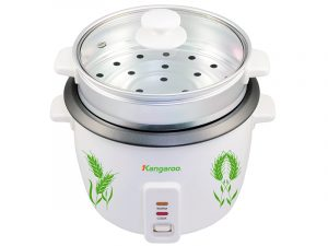 Rice cooker with removable glass lid KG12G