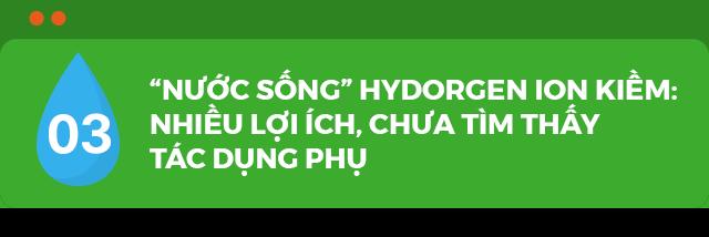 Nước sống hydrogen ion kiềm bảo vệ da hiệu quả, được bác sĩ khuyên dùng