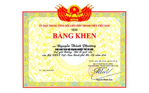 13 - Bang Khen UBTW HLHTN VN