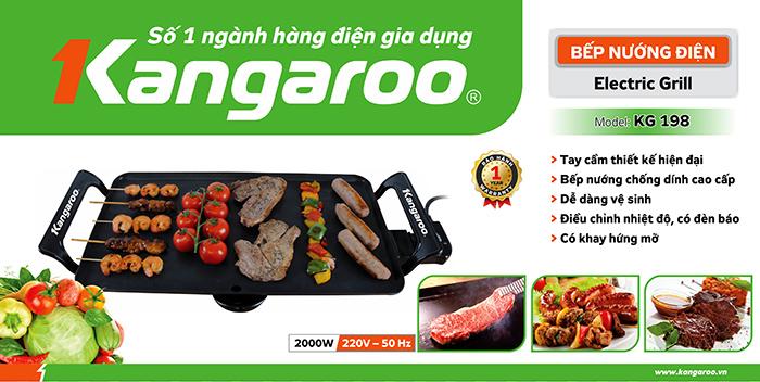 Bếp nướng điện KG 198