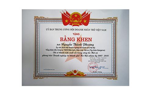16 - Bang khen UBTW Hoi DNT VN
