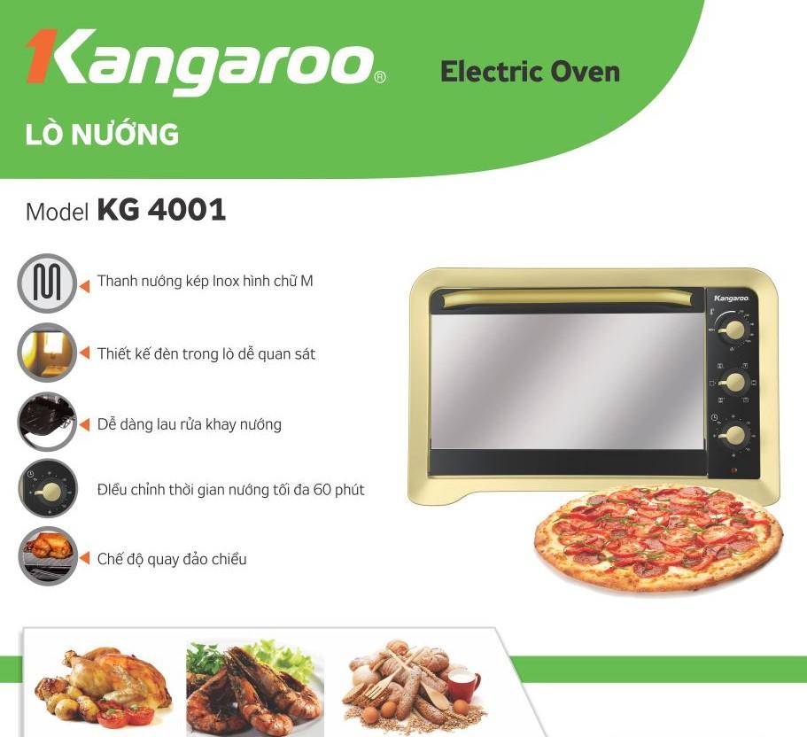 Lò nướng KG 4001