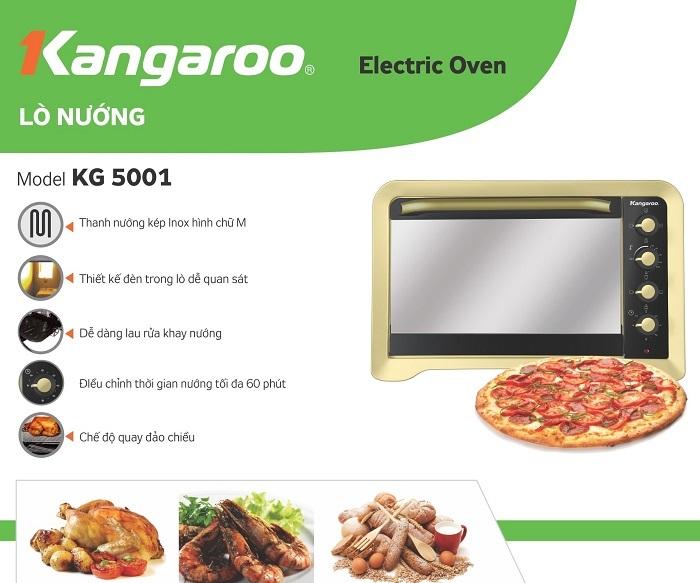 Lò nướng KG 5001