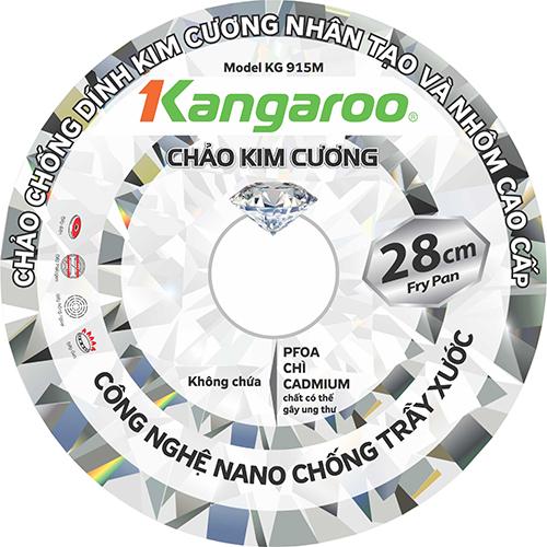 Chảo đá chống dính kim cương Kangaroo KG915M