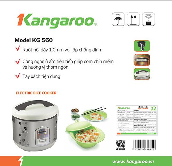 Nồi cơm điện Kangaroo KG560