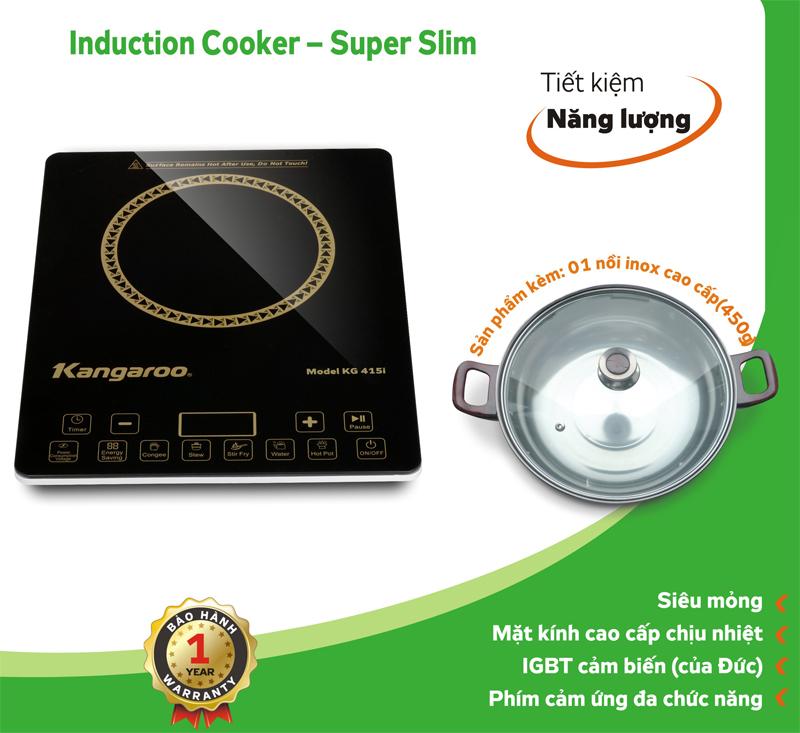 Đặc tính kỹ thuật Bếp điện từ Kangaroo KG 415i