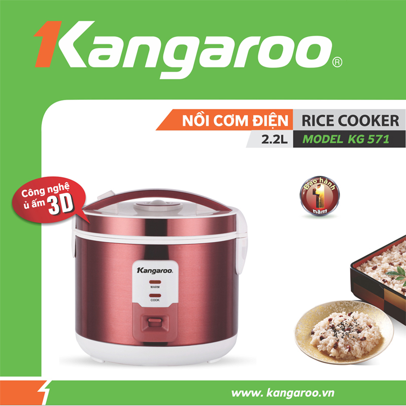 Nồi cơm Kangaroo KG571
