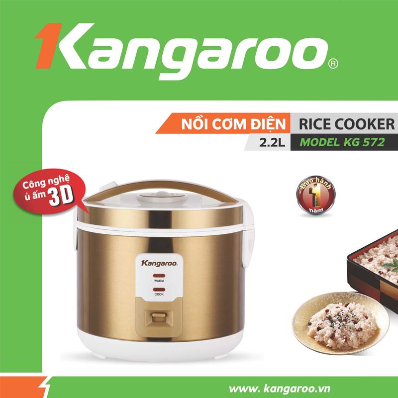 Nồi cơm Kangaroo KG572