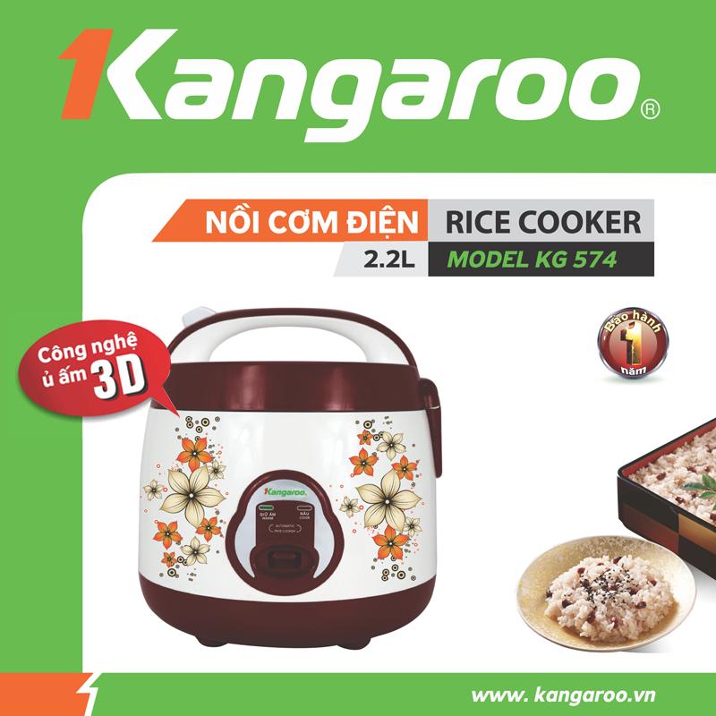 Nồi cơm điện Kangaroo KG574