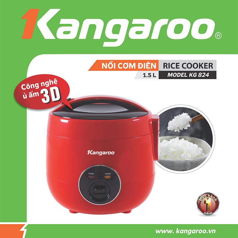 Nồi cơm điện Kangaroo KG824
