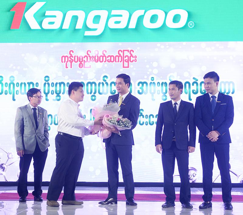 Le ra mat san pham Tu dong khang khuan Kangaroo dau tien tai thi truong Myanmar