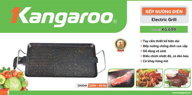 Bếp nướng điện KG 699G