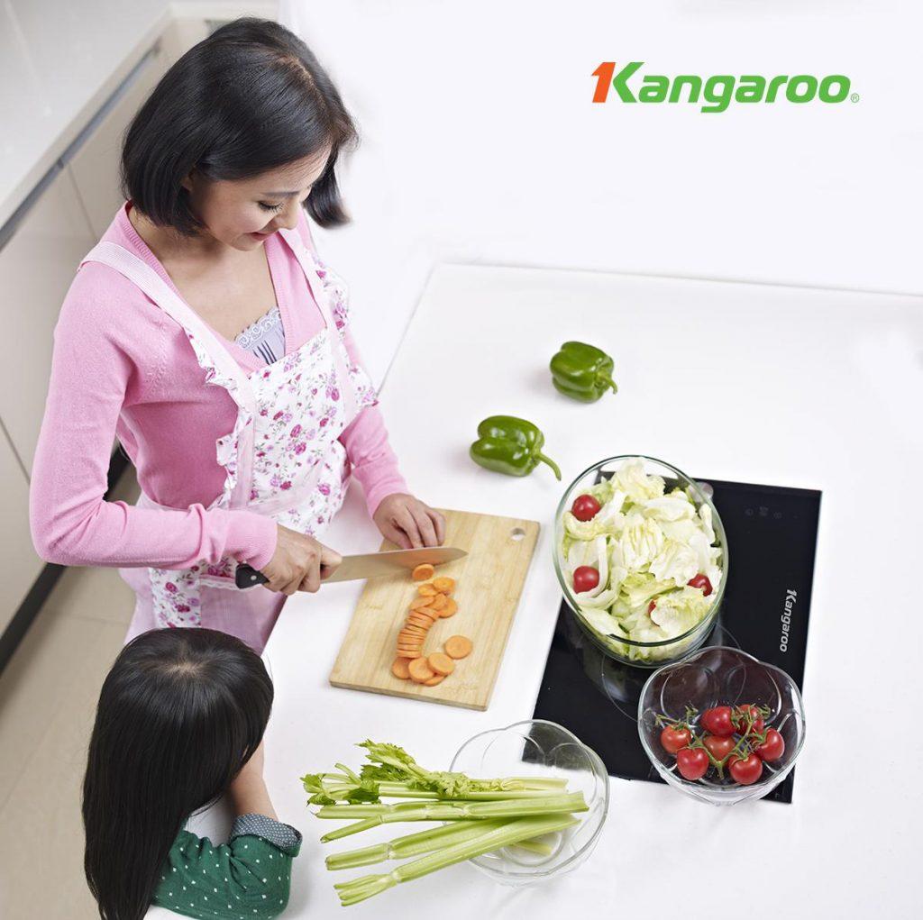 Đánh giá những lợi ích khi sử dụng bếp từ đôi Kangaroo