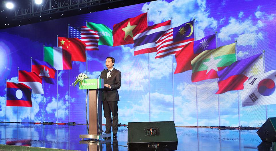 CEO Tap doan Kangaroo Group Nguyen Thanh Phuong