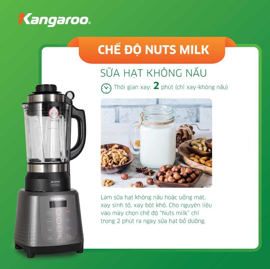 Hướng dẫn cách sử dụng máy làm sữa hạt Kangaroo