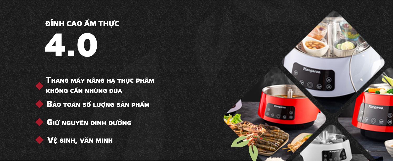 Lẩu thang máy - Đỉnh cao ẩm thực 4.0