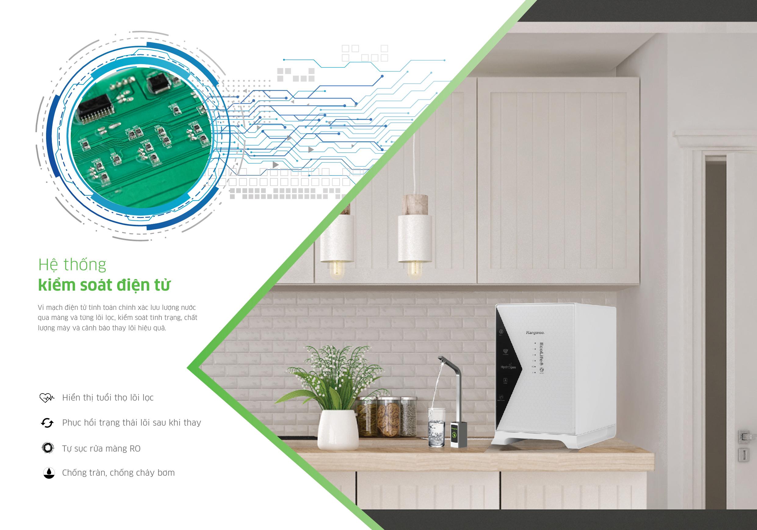 Hệ thống giám sát điện tử Kangaroo Hydrogen LUX Series