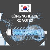 Máy lọc nước Kangaroo với màng lọc RO Votex Hàn Quốc