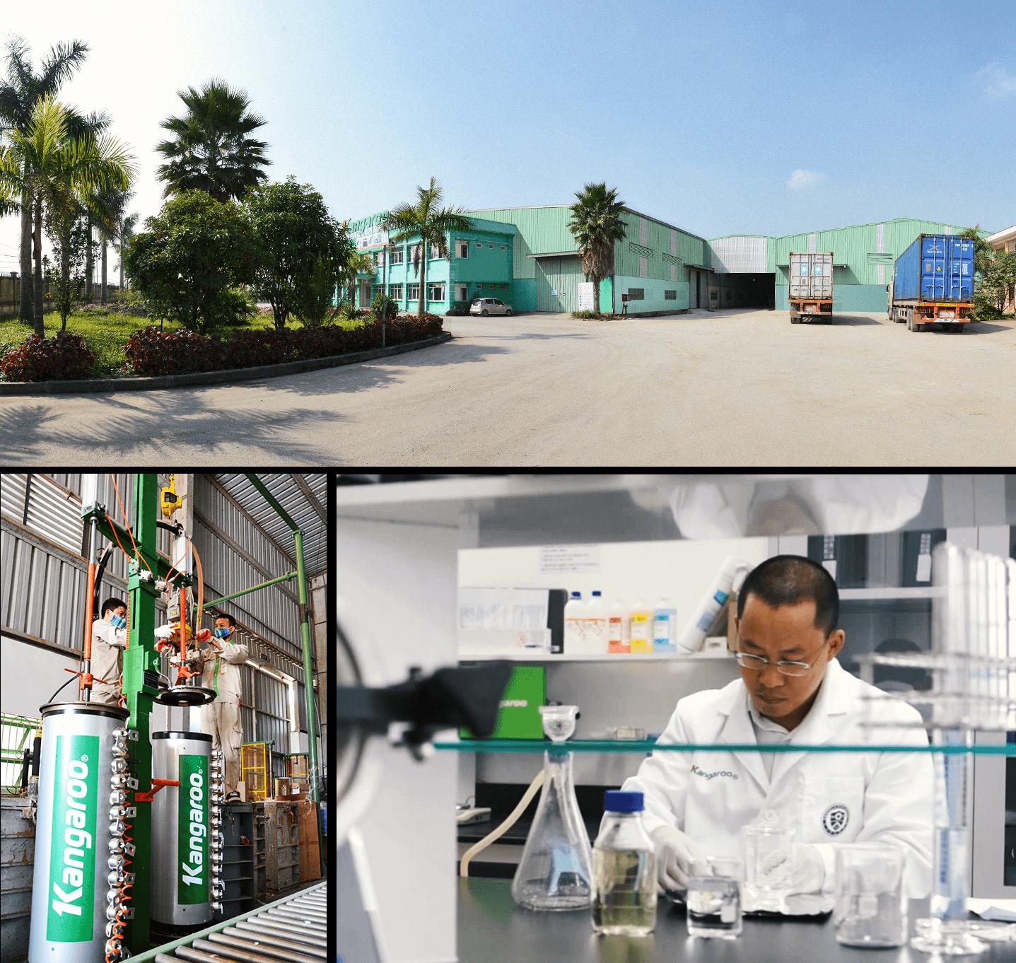 Sau thời gian tích lũy, hiện nay Kangaroo đang đầu tư để mở một nhà máy thứ 3, nâng dần tỷ lệ nội địa hóa sản phẩm từ 10% lên 70%.