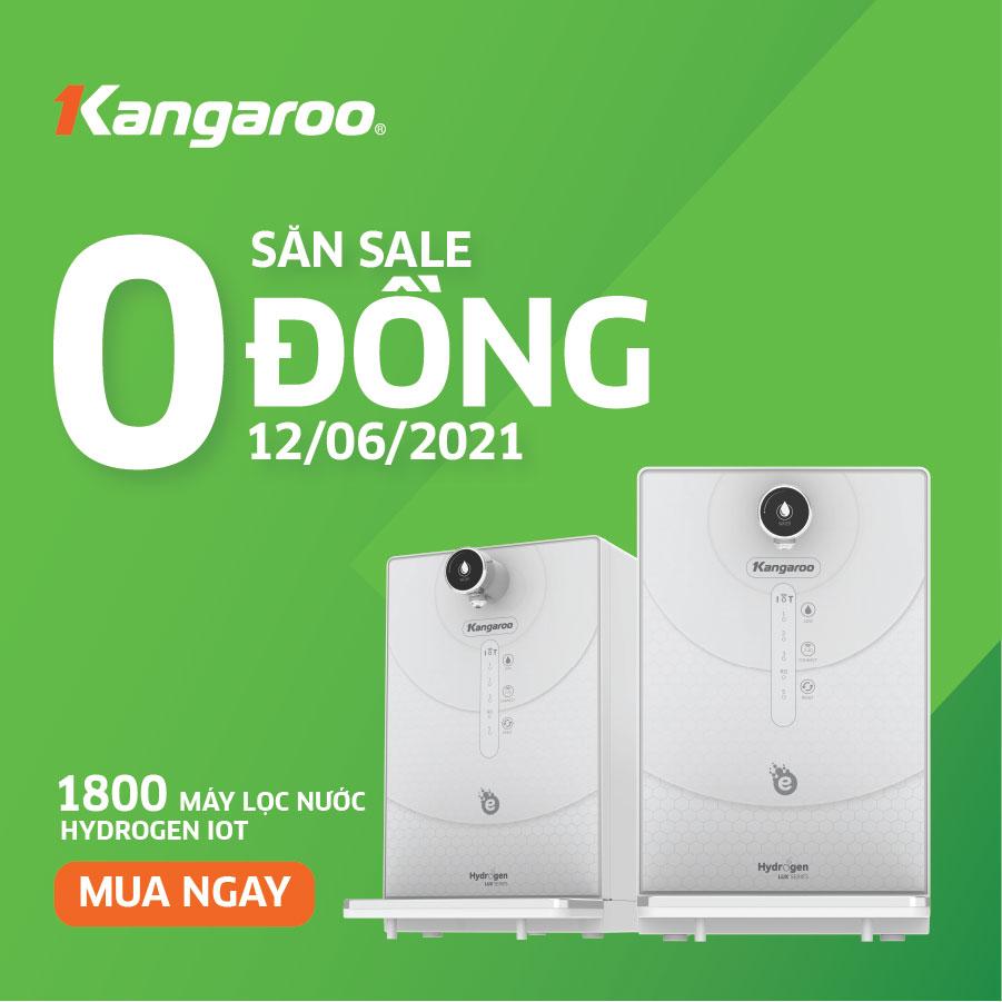 [CỰC SỐC] 1800 máy lọc nước Kangaroo IoT giá 0 đồng