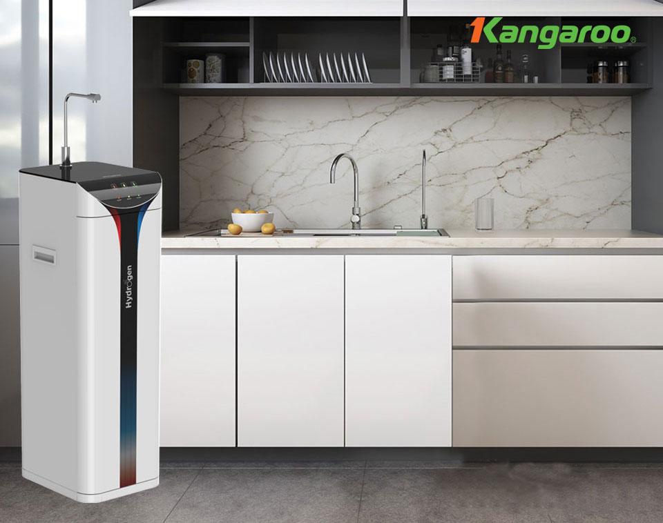 Máy lọc nước Kangaroo Hydrogen Slim nóng lạnh KG10A6S