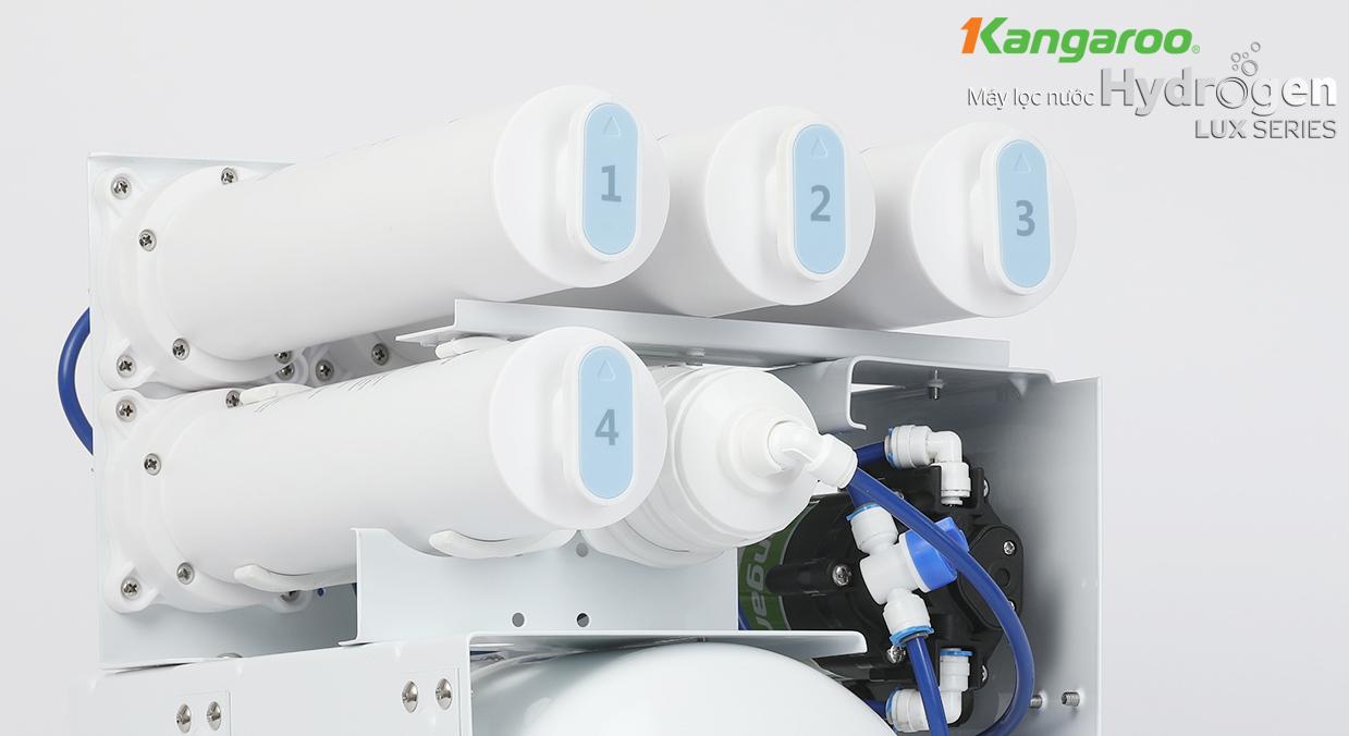 Bộ lõi lọc đúc nguyên khối Kangaroo Hydrogen LUX Series KG100HU
