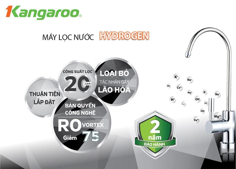 Máy lọc nước KangarooHydrogen
