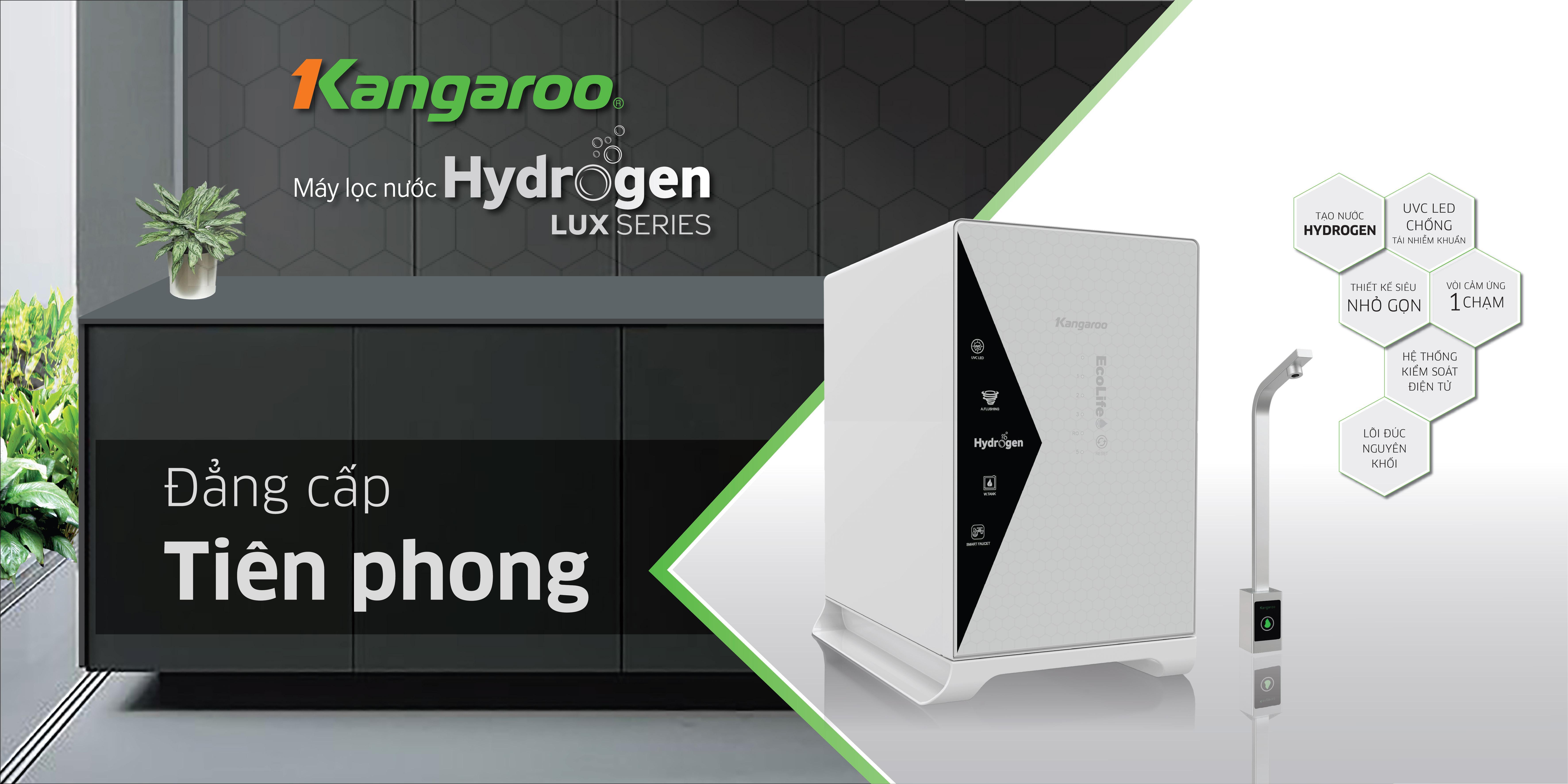 Máy lọc nước Kangaroo Hydrogen LUX series KG100HU+