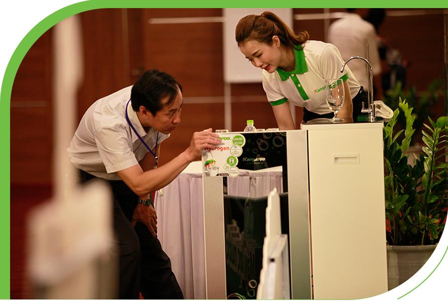 Máy lọc nước Kangaroo là sản phẩm được tin dùng nhất Việt Nam nhiều năm liền