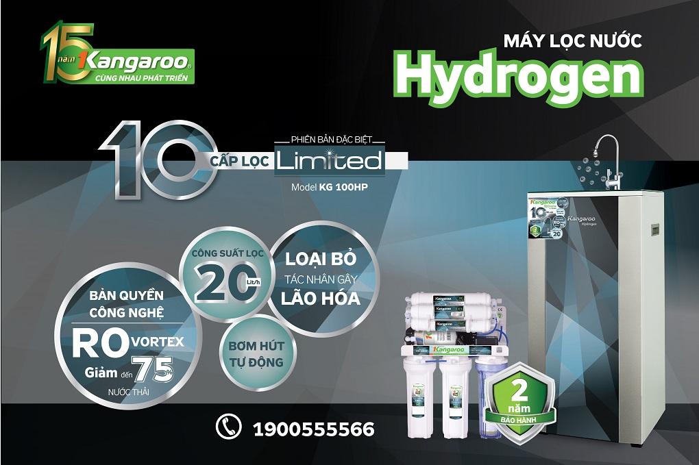 Máy lọc nước Hydrogen Plus