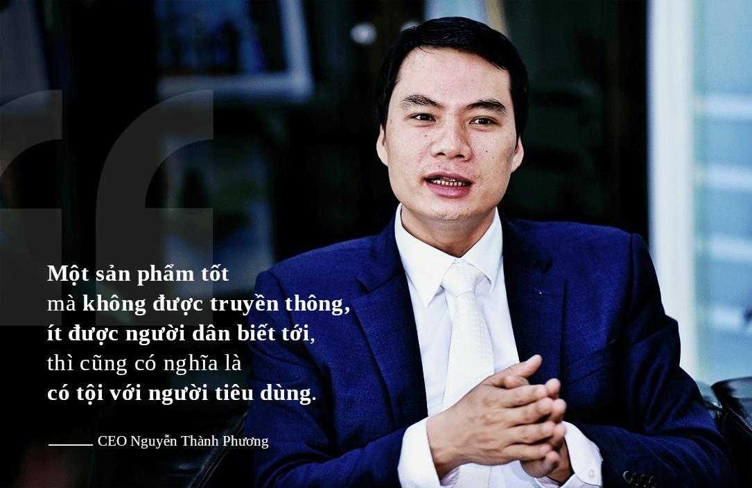 Một sản phẩm tốt mà khong được truyền thông, ít được người dân biết tới thì cũng có nghĩa là có tội với người tiêu dùng - CEO Kangaroo Nguyễn Thành Phương