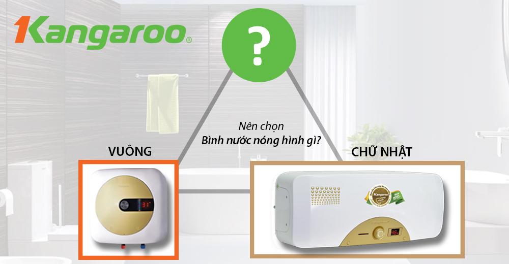 [Kinh Nghiệm] Nên chọn Bình nước nóng hình gì cho phù hợp với không gian phòng tắm tại nhà?