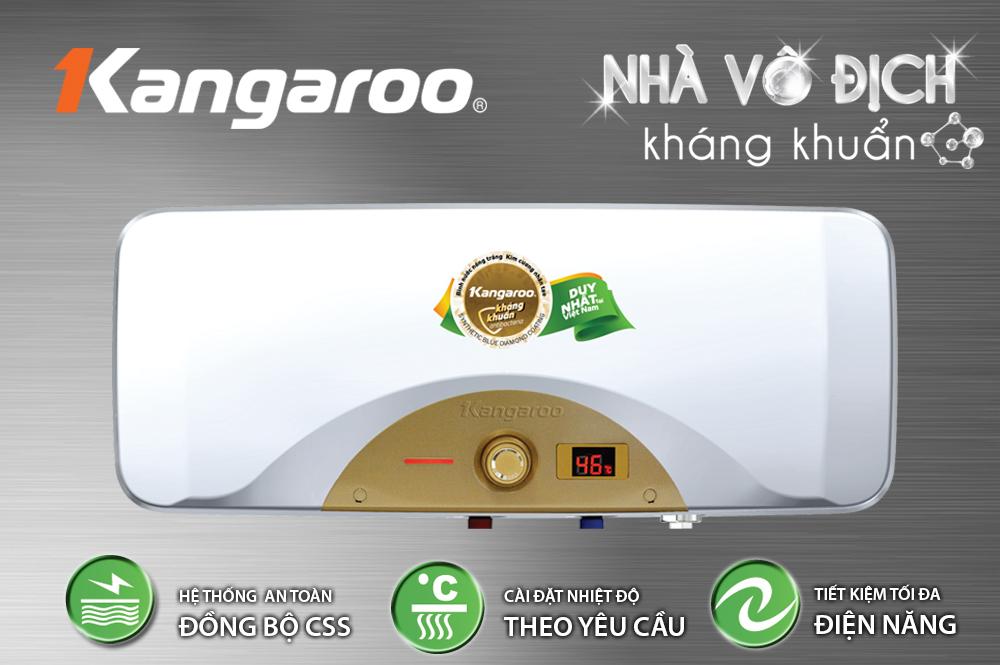 Nhung tinh nang an toan tren Binh nuoc nong Khang khuan Kangaroo