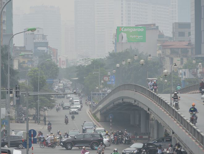 Vietnam is in the group of countries with the highest level of air pollution in the world