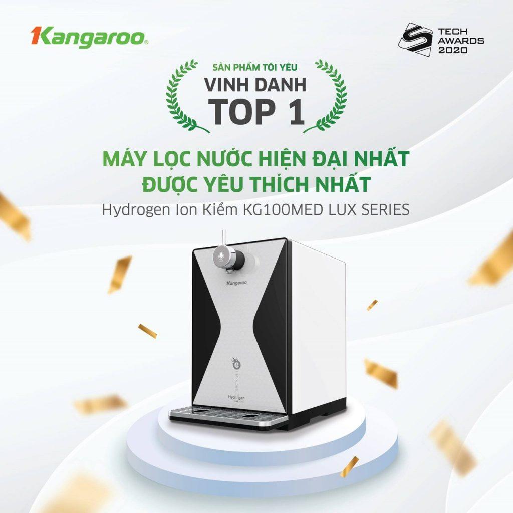 """Tìm hiểu công nghệ giúp Kangaroo đạt giải """"Máy lọc nước hiện đại nhất"""""""