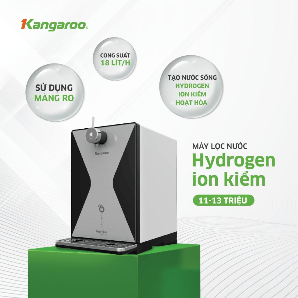 So sánh 3 dòng máy lọc nước Hydrogen trên thị trường hiện nay