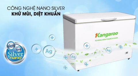 Công nghệ Nano sliver khử mùi diệt khuẩn