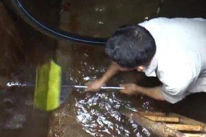 Cách xử lý nước nhiễm dầu thải: Thau lọc bằng nước liệu có rửa sạch được nước nhiễm dầu thải?