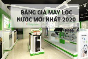 Báo giá máy lọc nước gia đình RO 2020