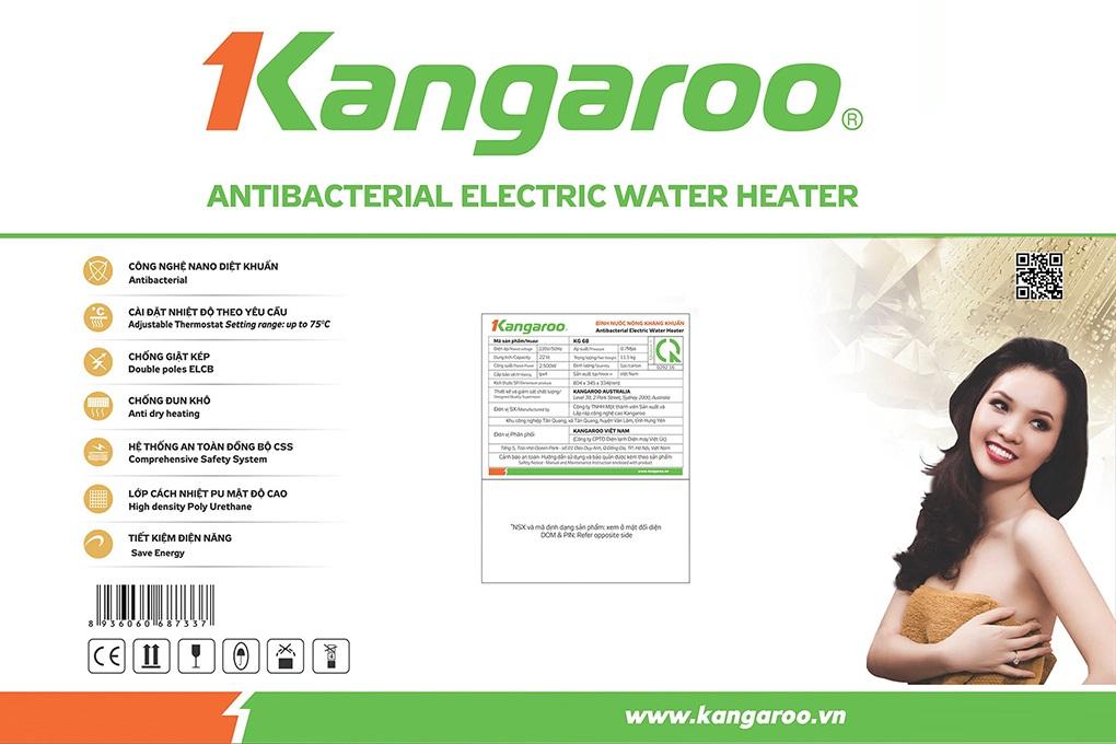 Bình nước nóng Kangaroo KG666H