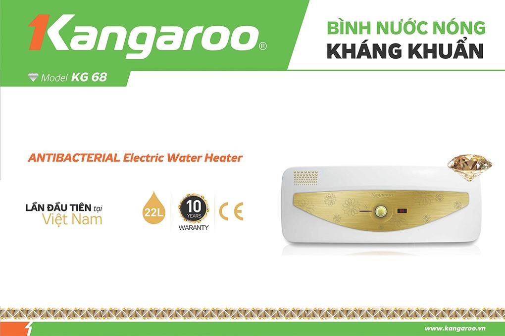 Bình nước nóng Kangaroo KG68
