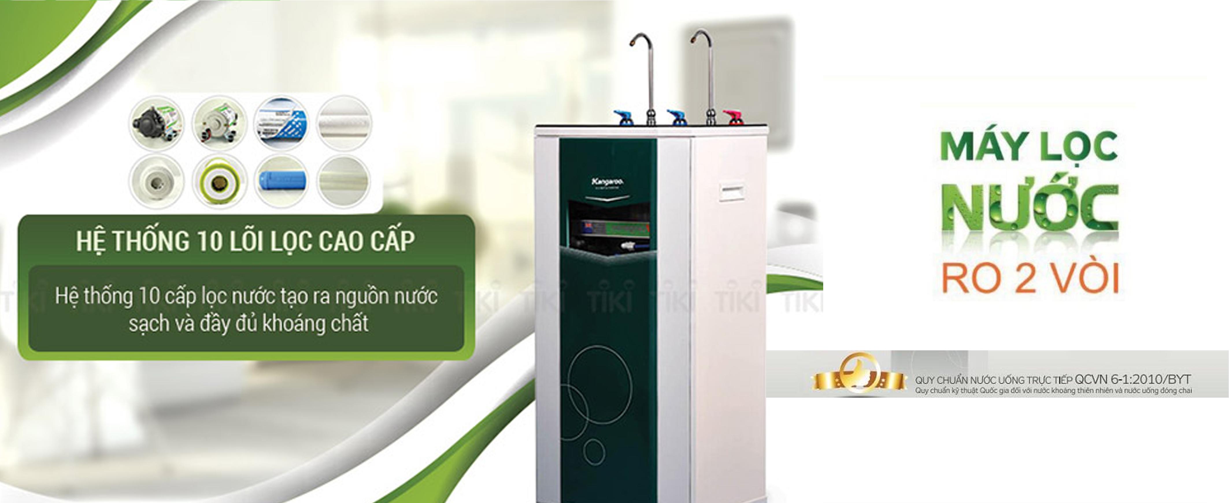 cách sử dụng máy lọc nước nóng lạnh Kangaroo