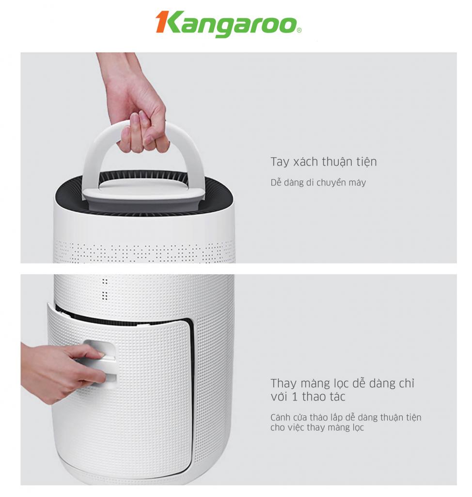 Máy lọc không khí gia đình Kangaroo KG50AP