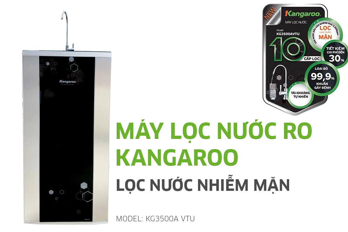 Máy lọc nước nhiễm mặn Kangaroo KG3500 VTU